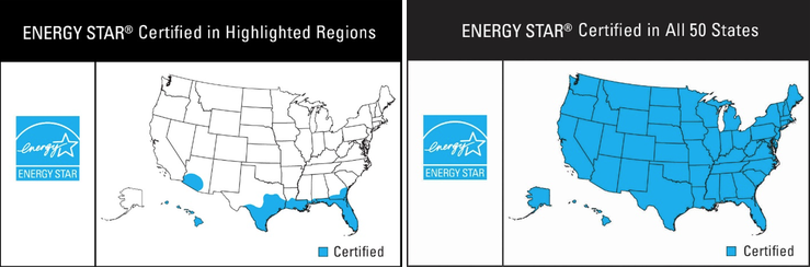 energy star maps